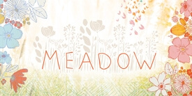 Meadow Fabric Collection by Leah Duncan