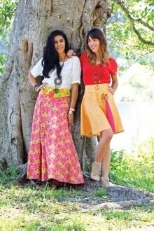 Rhapsodia La Boheme Skirt By Pat Bravo