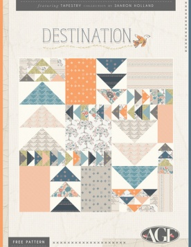 Destination Quilt by Sharon Holland