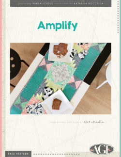 Amplify Table Runner by AGF Studio