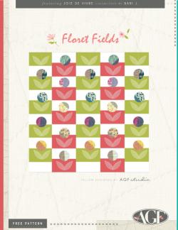 Floret Fields Pillow by AGF Studio