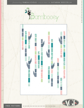 Bambooey Quilt by Katarina Roccella