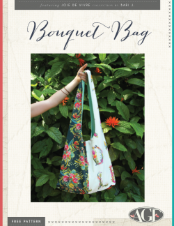 Bouquet Bag by AGF Studio