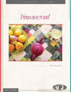 Transversal Table Runner by AGF Studio