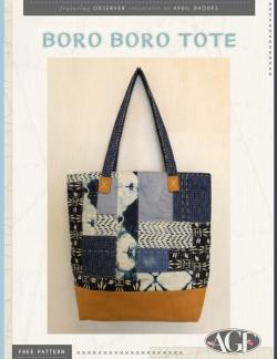 Boro Boro Tote by AGF Studio