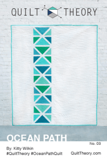 Ocean Path By Quilt Theory