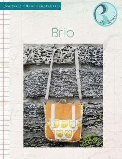 Brio Handbag Free Sewing Pattern by Pat Bravo