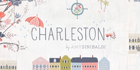 Charleston Fabric Collection by Amy Sinibaldi