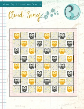 Cloud Song Quilt by Pat Bravo