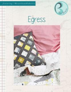 Egress Pillow Free Sewing Pattern by Pat Bravo
