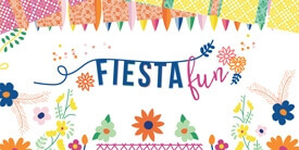 Fiesta Fun Fabric Collection by Dana Willard