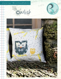 Owlish Pillow Free Sewing Pattern by Pat Bravo