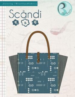 Scandi Bag Free Sewing Pattern by Pat Bravo