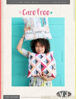 Care Free Pillow Pattern Instructions by AGF Studio