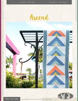 Ascend Table Runner Free Pattern by AGF Studio