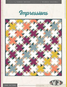 Impressions Quilt by AGF Studio