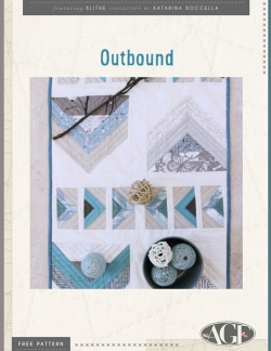 Outbound Table Runner Free Pattern by AGF Studio