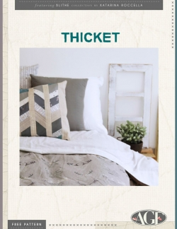 Thicket Pillow Free Pattern by AGF Studio