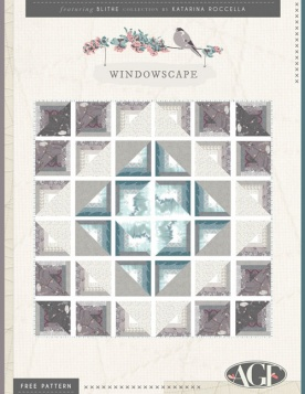 Windowscape Quilt by Katarina Roccella