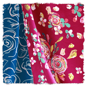 Rayon Fabric Collection