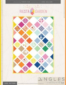 Fiesta Garden Quilt by Dana Willard