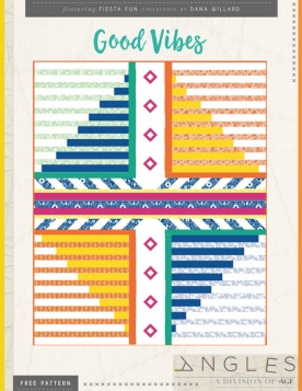 Good Vibes Quilt by AGF Studio