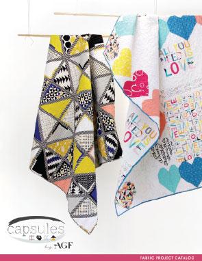 CAPSULES Fabric Lookbook by AGF Studio