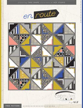 En Route Quilt by AGF Studio