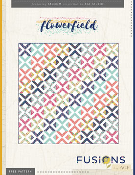 Flowerfield Quilt by AGF Studio