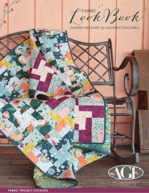 Garden Dreamer Lookbook by Maureen Cracknell Fabric Project Catalog
