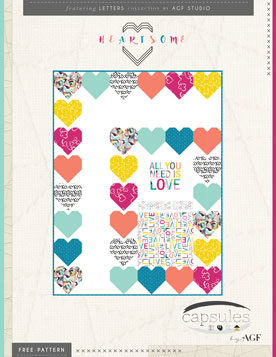 Heartsome Quilt by AGF Studio