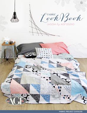 Lagom Fabric Lookbook by AGF Studio. Fabric Project Catalog
