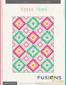 Sugar Town Quilt by AGF Studio