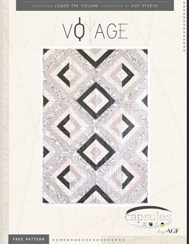 Voyage Quilt by AGF Studio