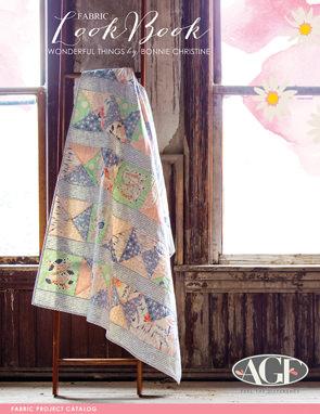 Wonderful Things Lookbook by Bonnie Christine Fabric Project Catalog