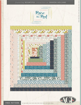 Raise the Roof Quilt by Sharon Holland