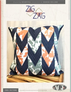ZigZag Pillow instructions