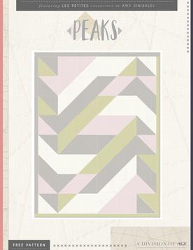 Peaks Quilt by AGF Studio
