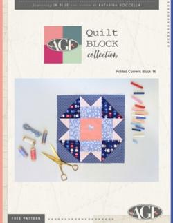 folded corners quilt block instructions