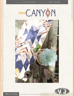 Canyon Table Runner Pattern by AGF Studio
