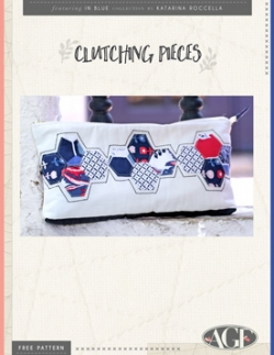 Clutching Pieces Clutch by AGF Studio