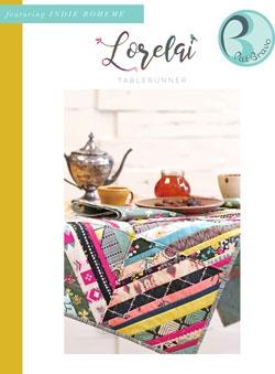 Lorelai Tablerunner Pattern by Pat Bravo