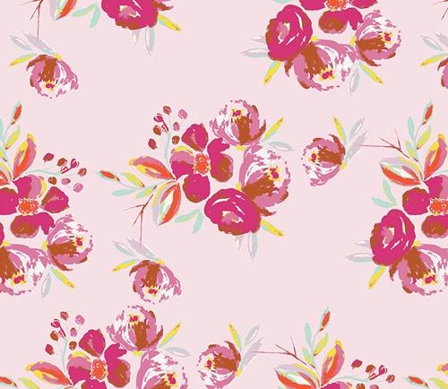 Wild Bloom Fabric Collection Painterly Floral Fabrics Art Gallery Fabrics