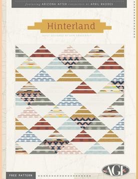 Hinterland Quilt by Sam Vanderpuy