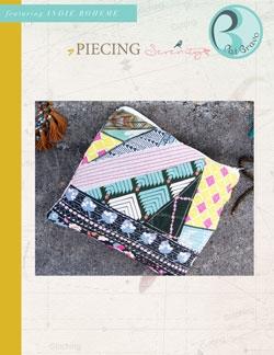 Piecing Serenity Pattern by Pat Bravo
