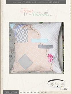 Faint Charms Pillow by AGF Studio