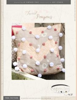 Sweet Pompom Pillow by AGF Studio