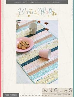 Winter Waltz Table Runner by AGF Studio