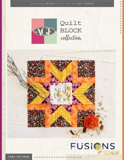 Morning Star Quilt Block by AGF Studio