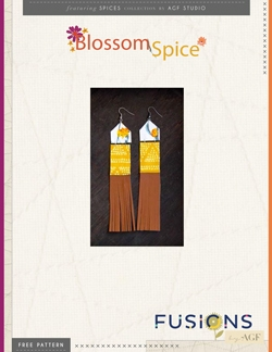 Blossom Spice Earrings DIY by AGF Studio